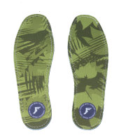 Footprint Insoles   Flat 3mm   Camo Green
