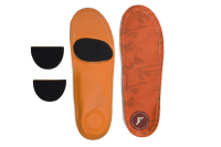 Footprint Insoles | Orthotic | Camo Orange