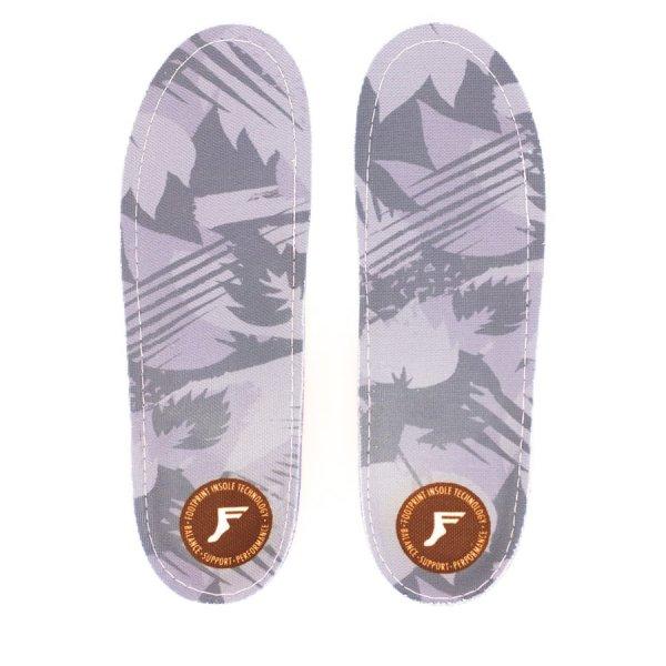 Footprint Insoles | Gamechangers Low | Camo Lightgrey