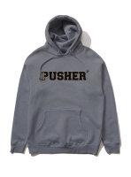 Pusher | Hoodie | Academik - grey
