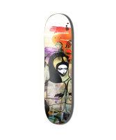 Colours | Skateboard Deck | Grunge Queen | 8,25